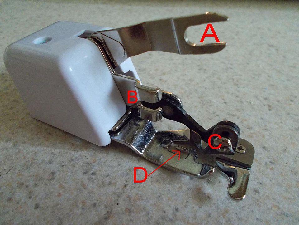 Side Cutter Sewing Machine Presser Foot