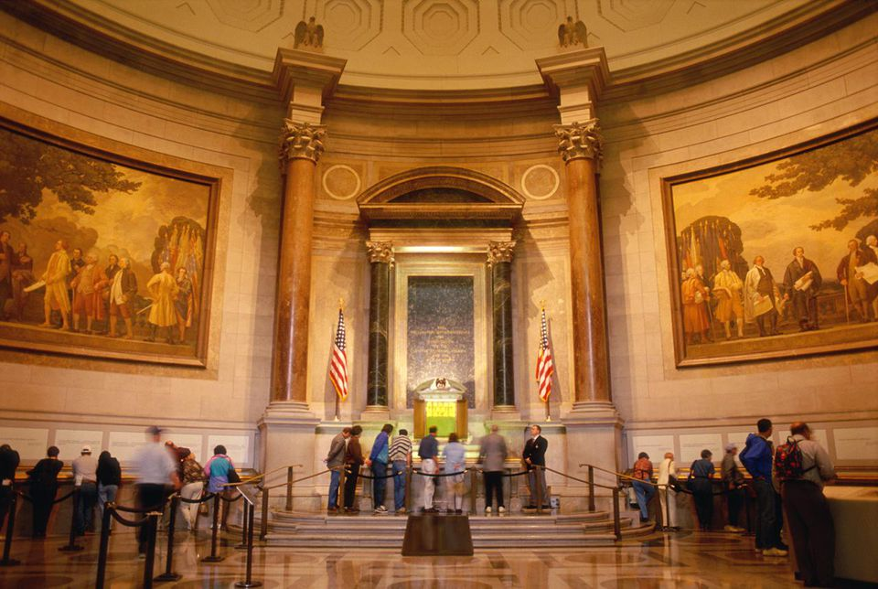 Declaration of Independence at the National Archives