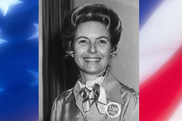 Phyllis Schlafly of Stop ERA