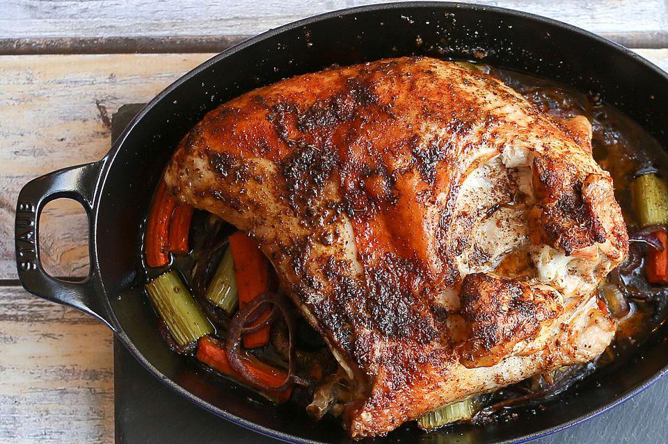 Cajun Seasoned Split Turkey Breast