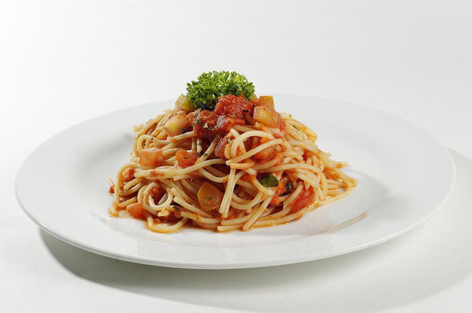 Vegetarian Crockpot Spaghetti Sauce Recipe