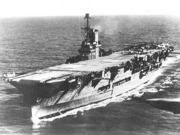 HMS Ark Royal at Sea