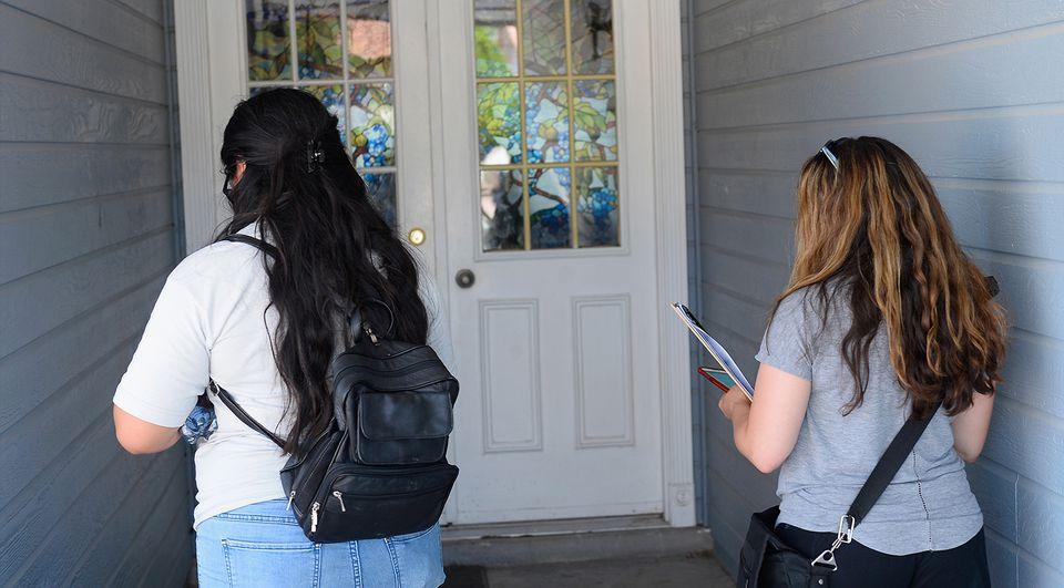 Neighborhood Listening Project Health Care Door Knocking Canvass