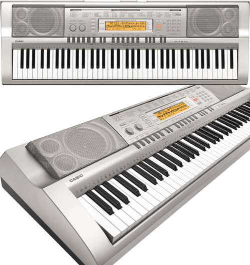 casio wk 200 a 76 key musical keyboard. Black Bedroom Furniture Sets. Home Design Ideas
