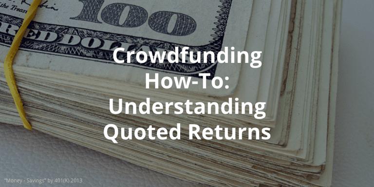 Understanding real estate crowdfunding returns