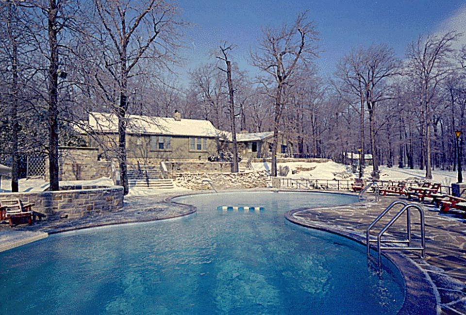 White house pools spas and water features for White house swimming pool history