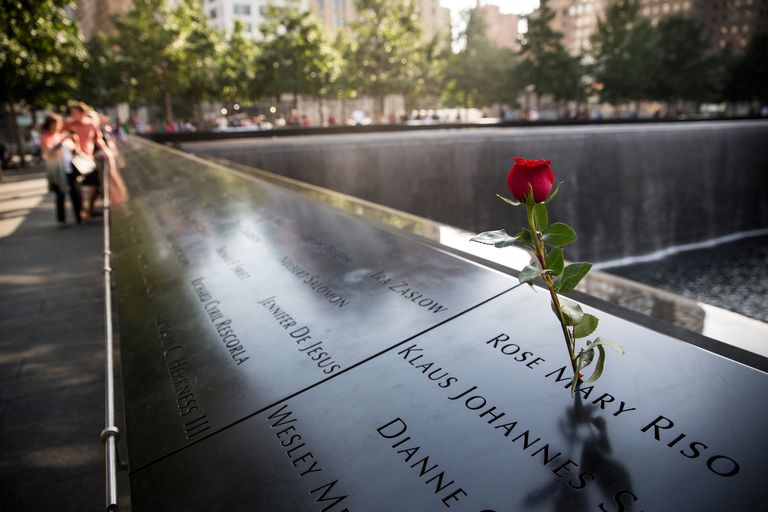 Memorial to Sept. 11, 2001 Terrorist Attacks Victims