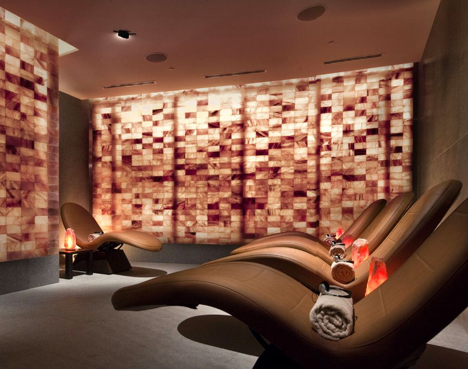 Spa Salt Room at ARIA at CityCenter in Las Vegas