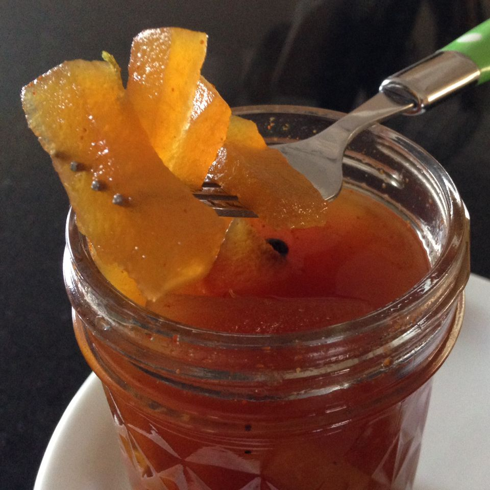 Pickled Watermelon Rind