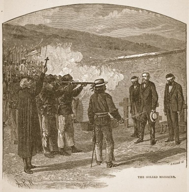 The Goliad Massacre