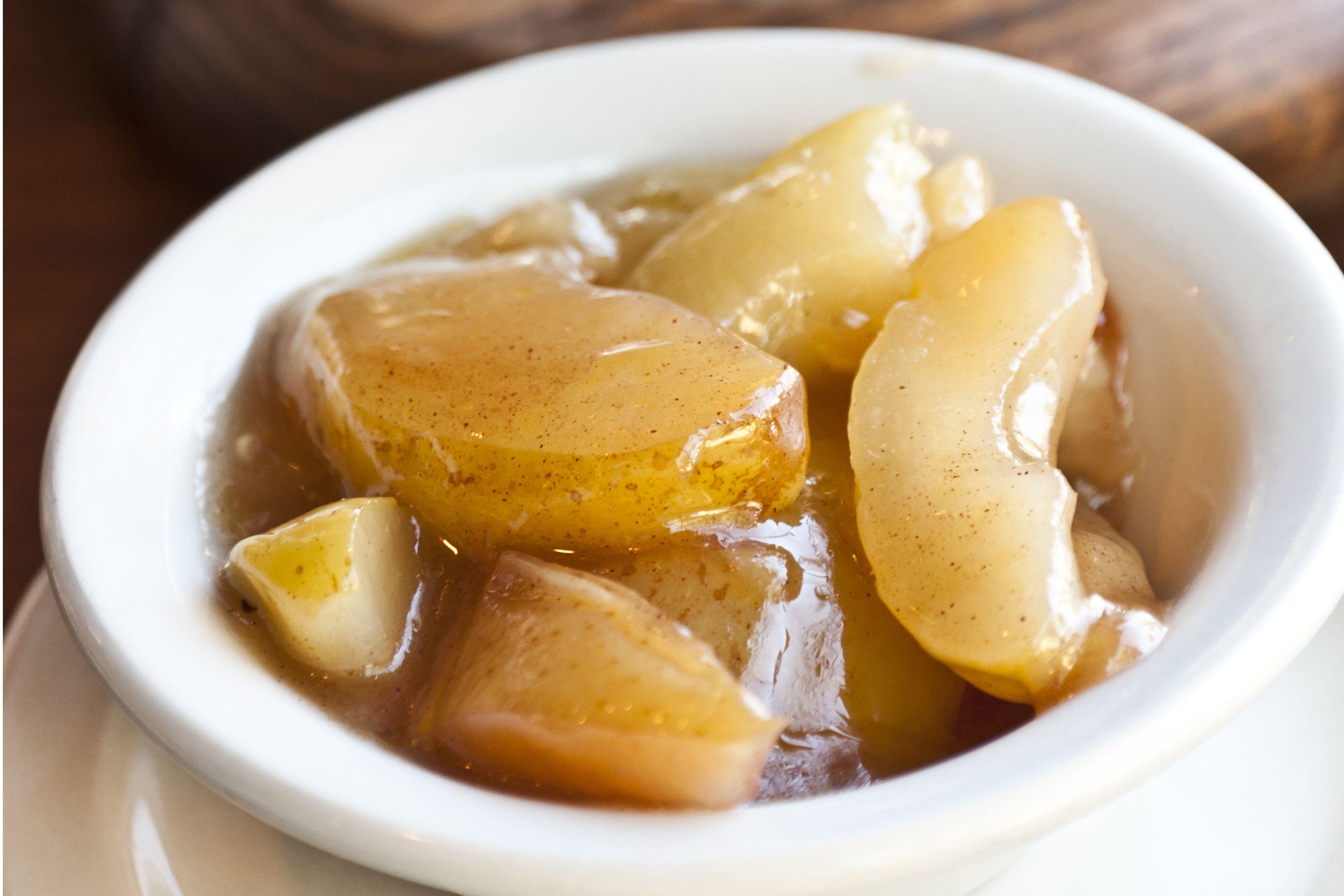 Saut 233 Ed Apples Recipe