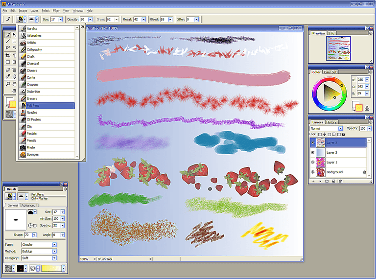 Best art oriented programs and graphics software Drawing programs for windows