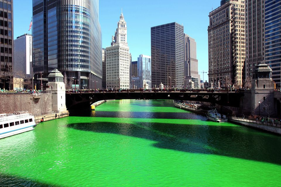 River Dyed Green