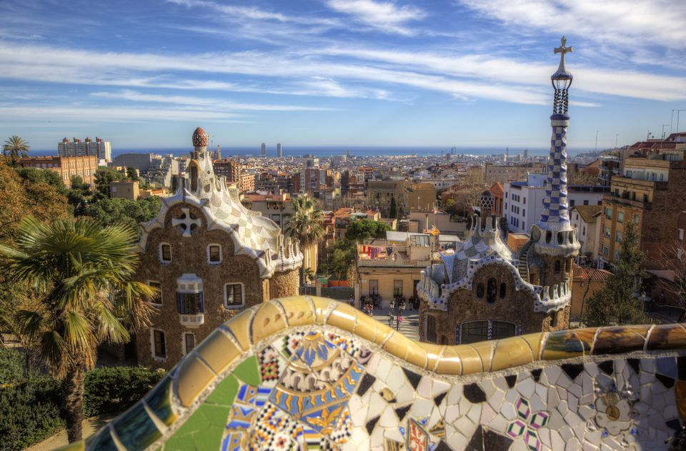 Barcelona from Parque Guell