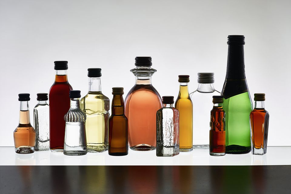 Liqueurs come in every color and flavor you could imagine.