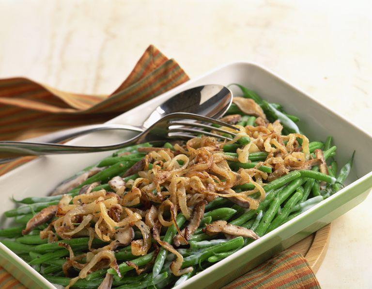 low calorie green bean casserole
