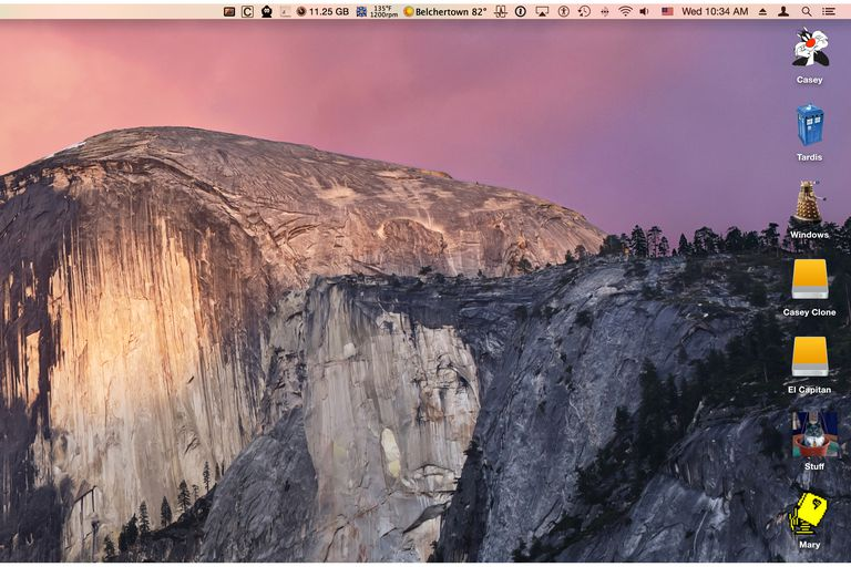 Desktop Icons in OS X Yosemite