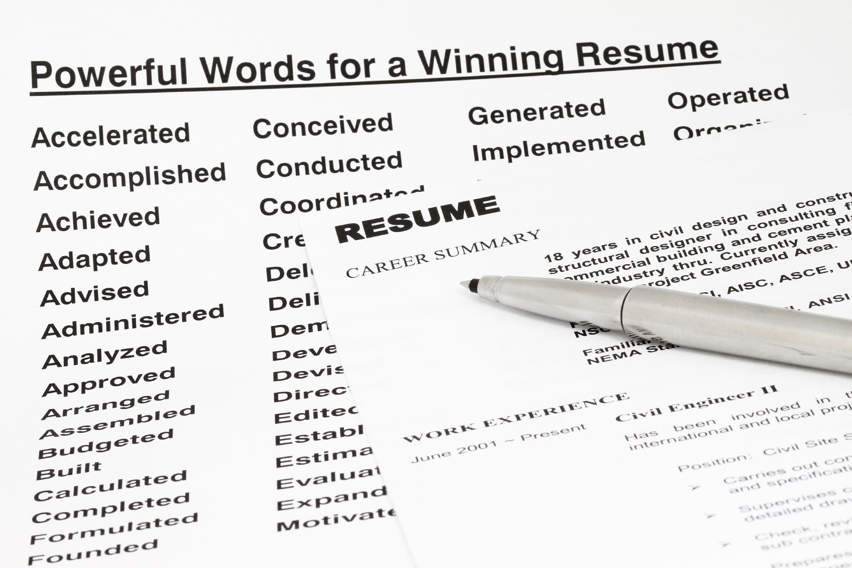 Resume Keywords And Tips For Using Them