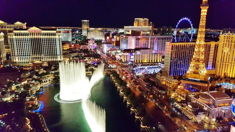 Hotels Along The Vegas Strip