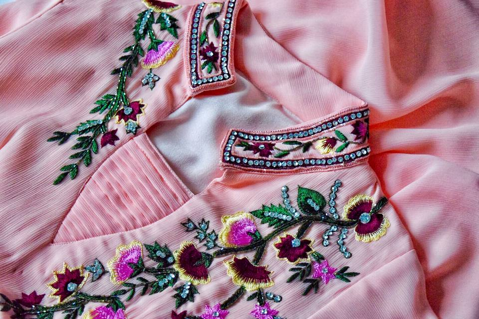 Close-up of women dress
