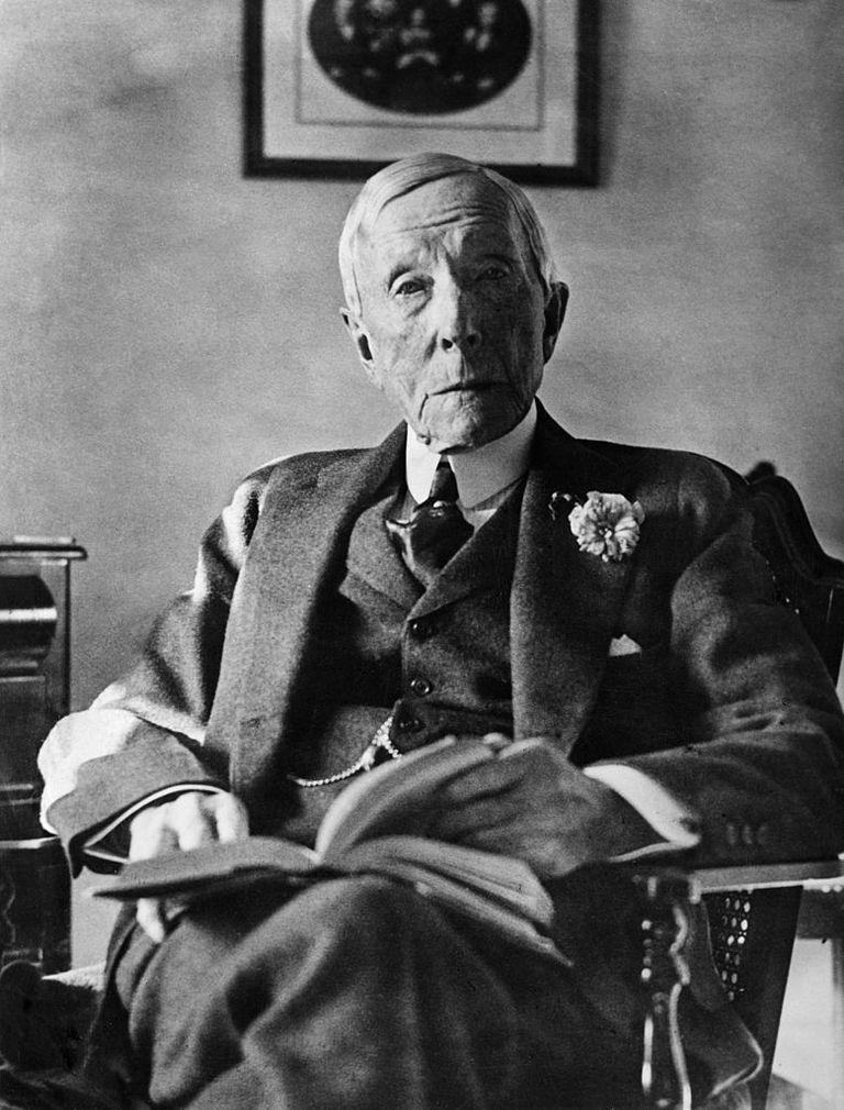 Circa 1930: American Industrialist, John Davison Rockefeller (1839 - 1937)