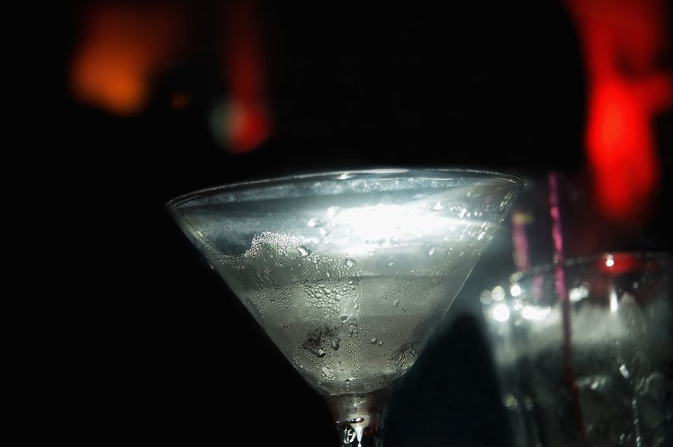 Licorice Stick Martini