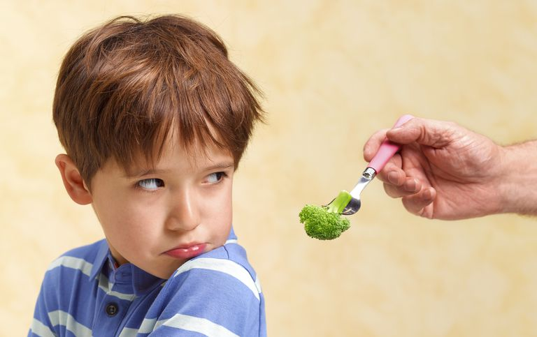 Many children find broccoli to be disgusting.