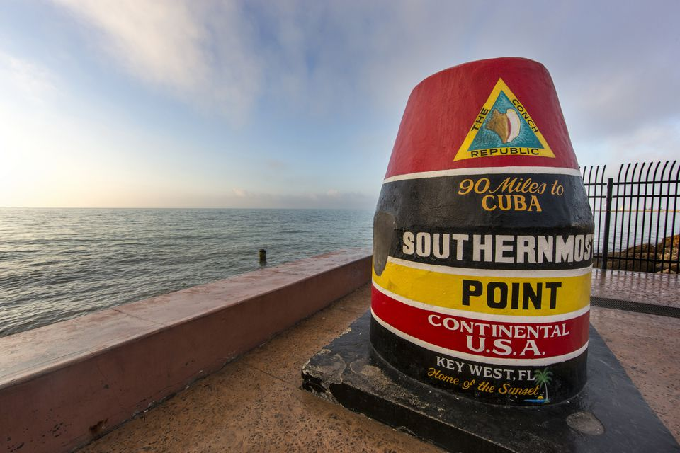 Key West Marker - Southernmost Point in the USA