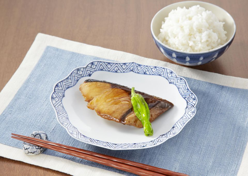 Yellowtail teriyaki