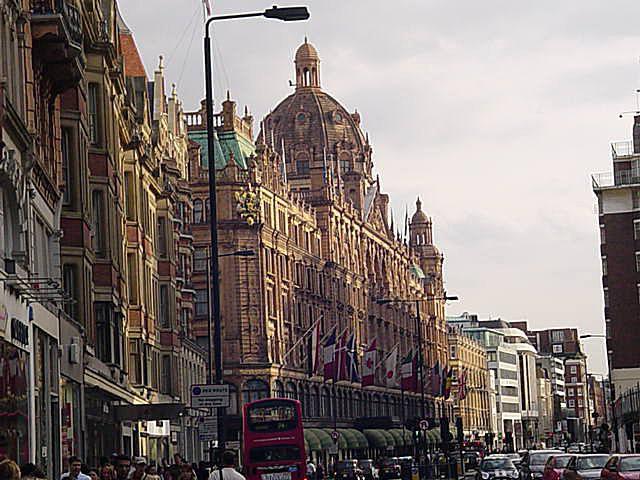 Photo of Harrod's in London