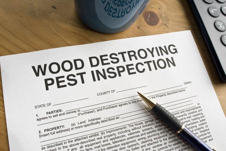 pest inspection form