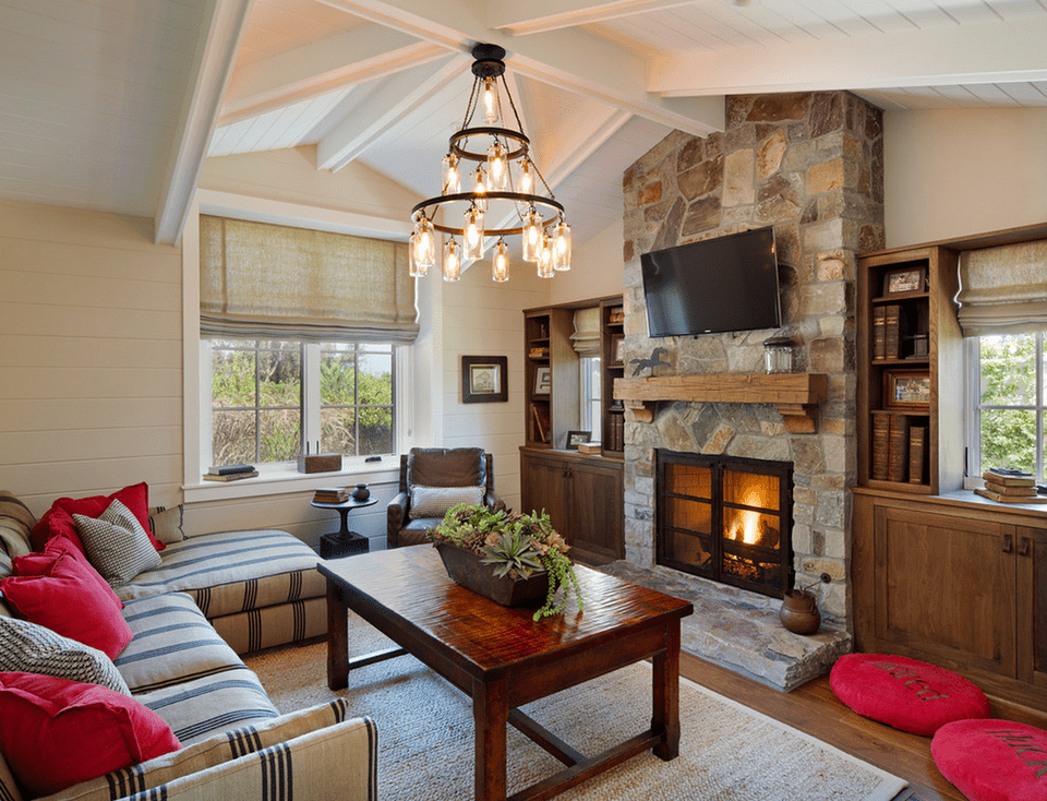 20 beautiful living rooms with fireplaces - Living room with fireplace ...