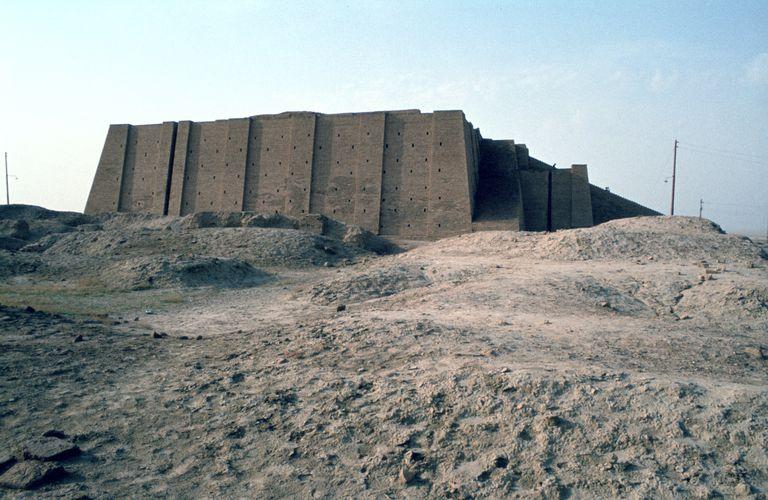 Great Ziggurat of Ur, Iraq, 1977.