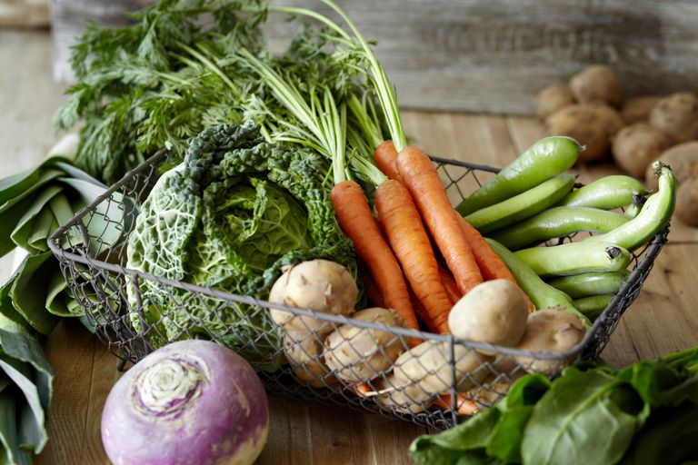 Vegetables are included in an alkaline diet.