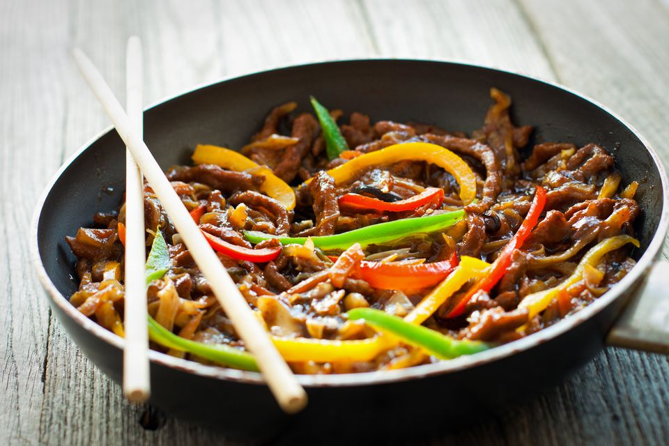 Veggie infused chinese stir fry beef for Asian food cuisine