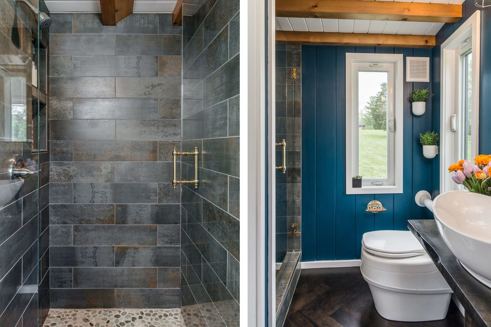 33 small shower ideas for tiny homes and tiny bathrooms for Shower enclosures for small bathrooms