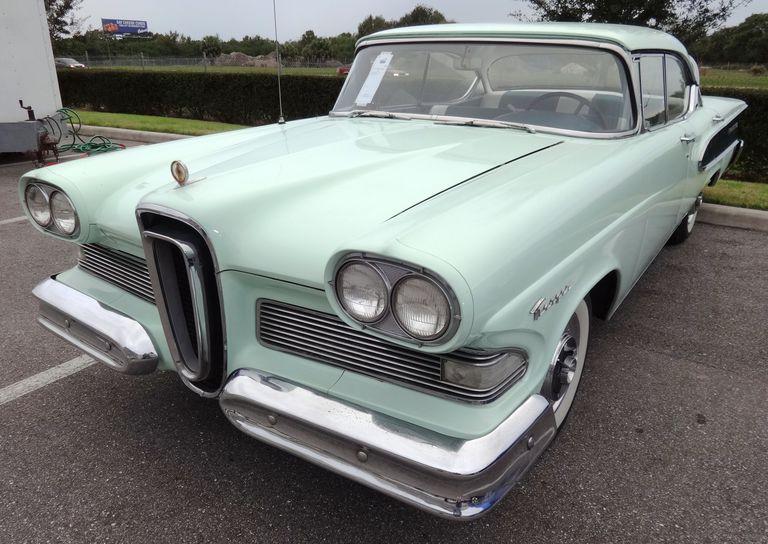Ice Green 1958 Edsel Ranger Ford Paint Code M0688