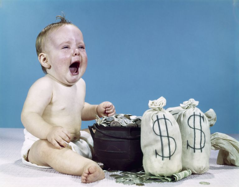 Baby crying over IRA rollover gone wrong.