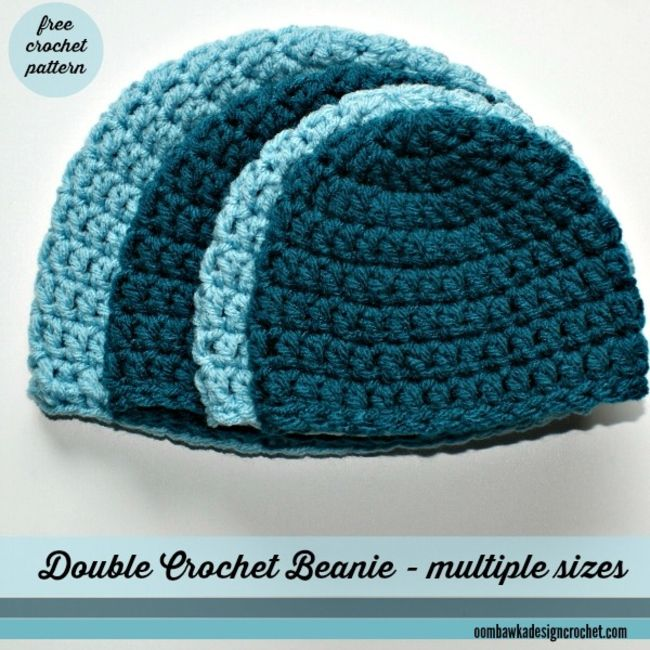15 adorable baby hat crochet patterns double crochet beanie hat free pattern dt1010fo