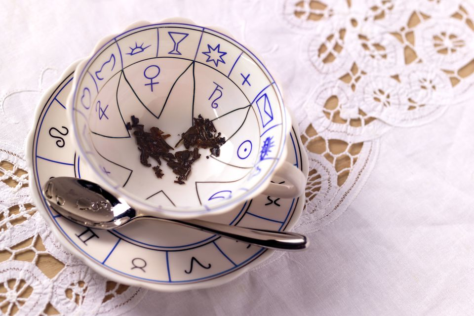 Tasseography Symbols For Reading Coffee Or Tea Leaves
