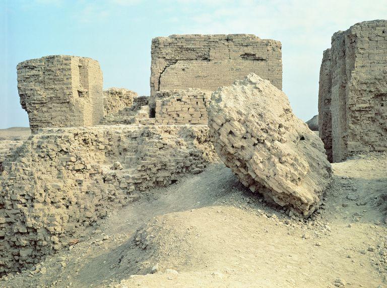 Building ruins