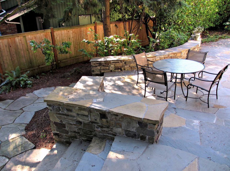 flagstone patio pavers