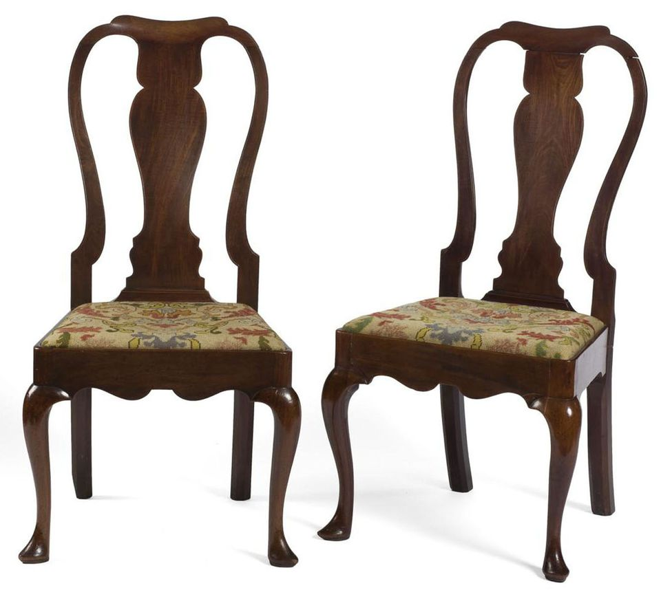 Pair of Yoke-Back Chairs