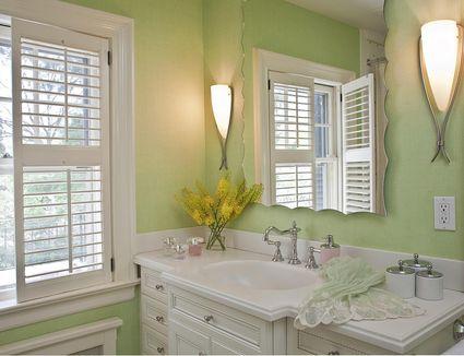 Home design ideas by room for Small bathroom no windows