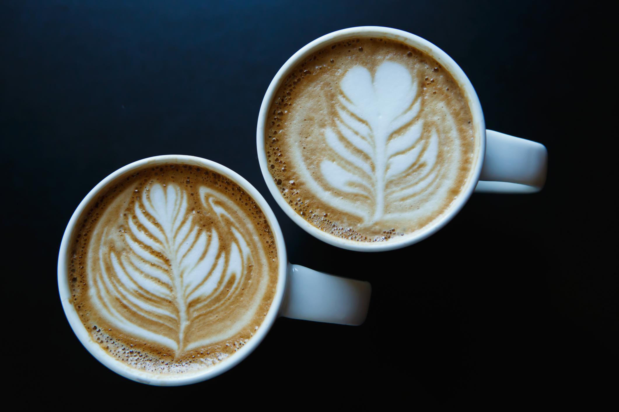 How to make caffe lattes recipe - Bilder cappuccino ...