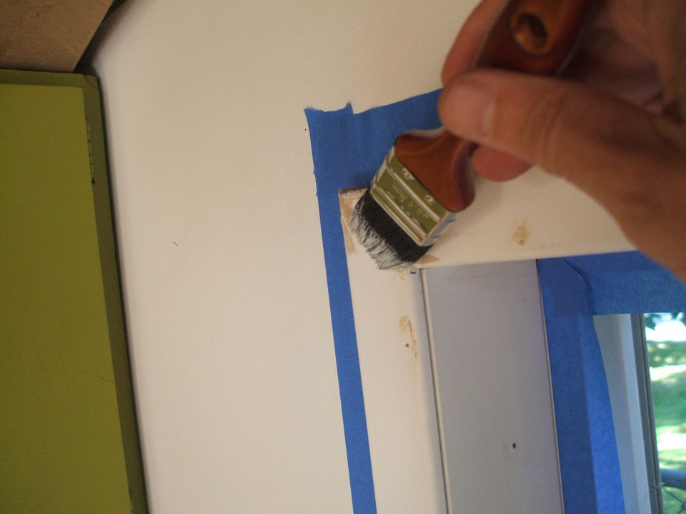 Paint Your Window Trim Easily And Mess Free