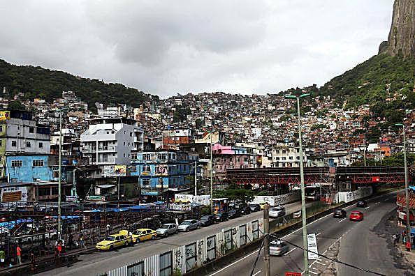 Rio de Janeiro's Rocinha favela