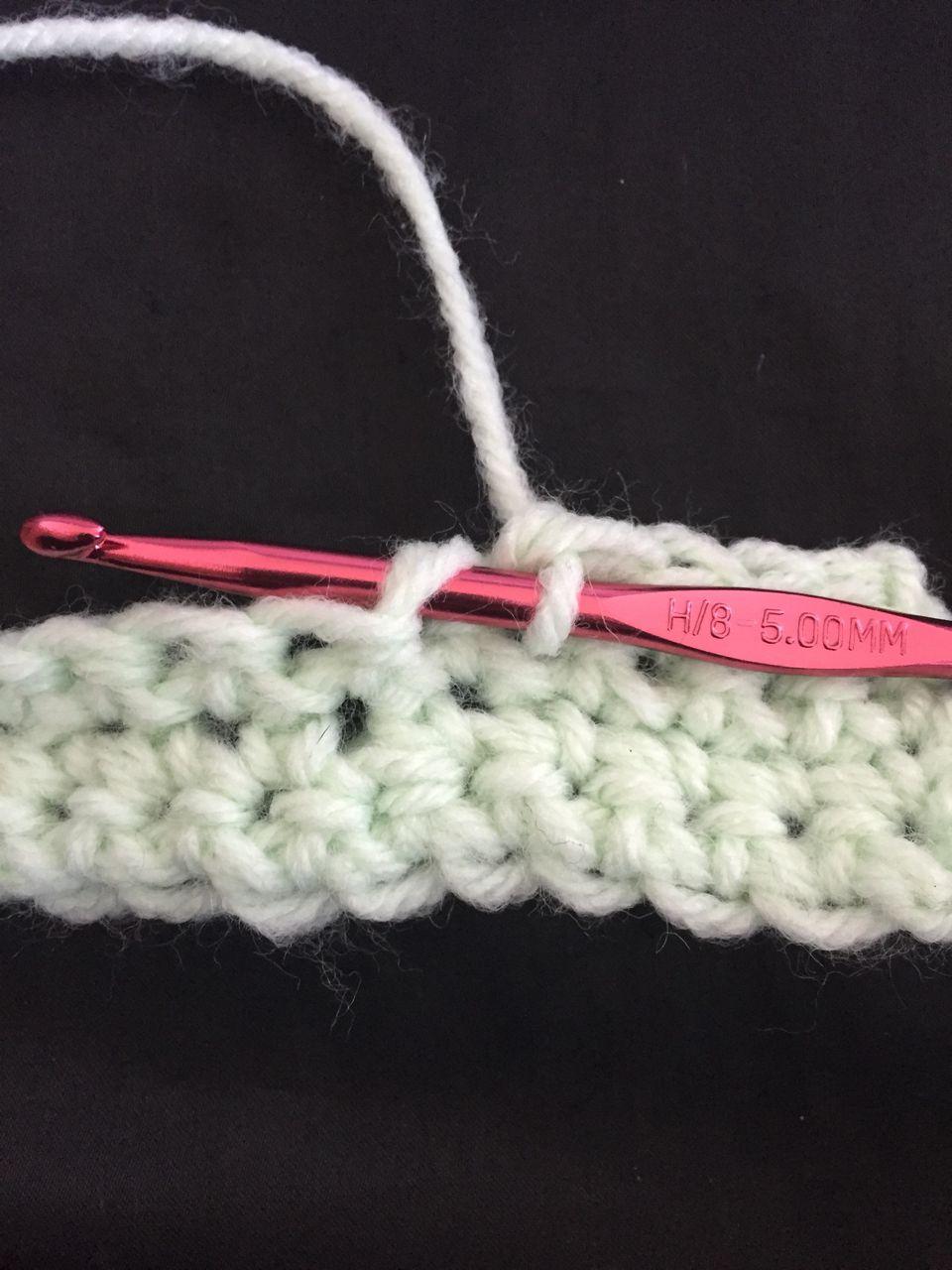 Single Crochet, Step One