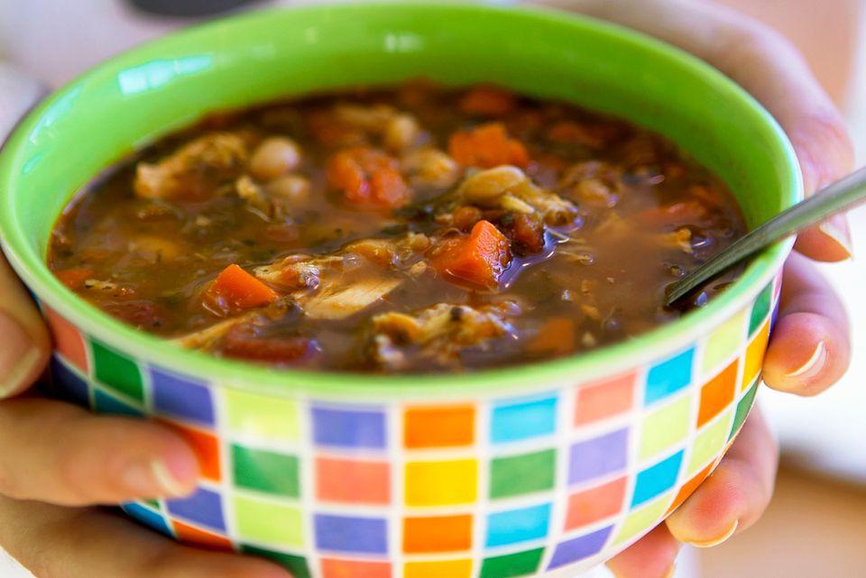Beef short rib soup