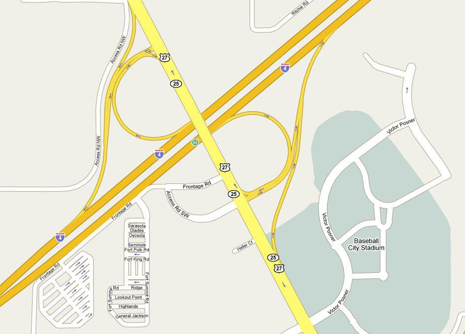 I-4 Exit 55